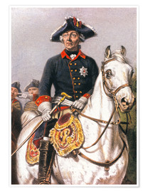 Poster Premium Frederick the Great