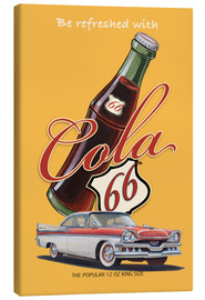 Stampa su tela  Cola 66 Advertising - Georg Huber