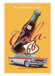 Poster Premium  Cola 66 Advertising - Georg Huber