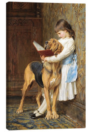 Tela  Compulsory education - Briton Riviere