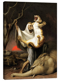 Stampa su tela  Power Of Death - William Holbrook Beard