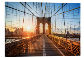 Forex  Brooklyn Bridge a NY all'alba - Jan Christopher Becke