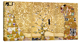 Tela  The Tree of Life (Detail) - Gustav Klimt