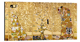 Alluminio Dibond  The Tree of Life (Complete) - Gustav Klimt