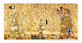 Poster  The Tree of Life (Complete) - Gustav Klimt