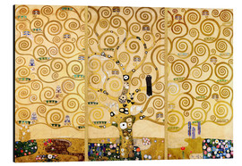 Alluminio Dibond  The Tree of Life - Gustav Klimt