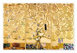 Poster  The Tree of Life - Gustav Klimt