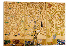 Legno  The Tree of Life - Gustav Klimt