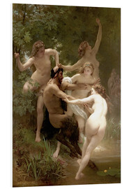 Forex  Nymphs and satyr - William Adolphe Bouguereau