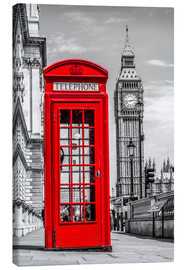 Tela  London phone booth - euregiophoto