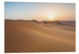 Forex  Sunrise over sand dunes, empty quarter desert, Abu Dhabi, Emirates - Matteo Colombo
