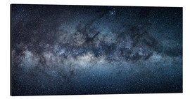 Stampa su alluminio  Milky Way Panorama - Jan Christopher Becke