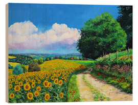 Legno  Sunflowers season - Jean-Marc Janiaczyk
