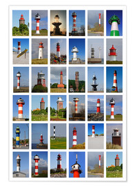 Poster Premium Lighthouses