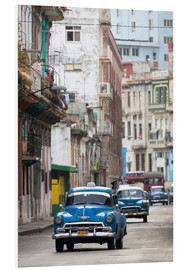 Schiuma dura  Taxi in Avenue Colon, Cuba - Lee Frost