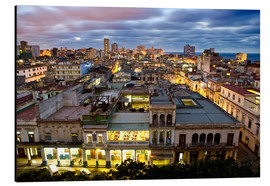 Alluminio Dibond  View over Havana - Lee Frost