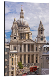 Stampa su alluminio  St. Paul's Cathedral, London - Walter Rawlings