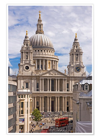 Poster Premium St. Paul's Cathedral, London