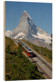 Stampa su legno  Excursion to the Matterhorn - Hans-Peter Merten