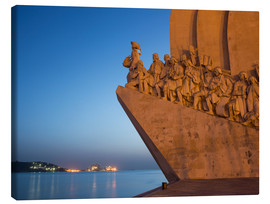 Stampa su tela  Monument to Discoveries, Belem, Lisbon, Portugal, Europe - Angelo Cavalli