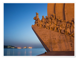 Poster  Monument to Discoveries, Belem, Lisbon, Portugal, Europe - Angelo Cavalli