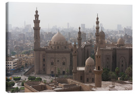 Stampa su tela  Mosque of Sultan Hassan in Cairo old town, Cairo, Egypt, North Africa, Africa - Martin Child
