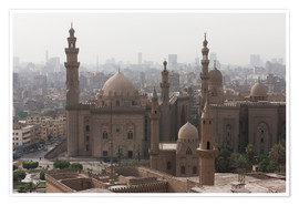 Poster Premium  Mosque of Sultan Hassan in Cairo old town, Cairo, Egypt, North Africa, Africa - Martin Child