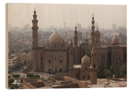 Legno  Mosque of Sultan Hassan in Cairo old town, Cairo, Egypt, North Africa, Africa - Martin Child