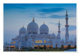 Poster Premium Sheikh Zayed Grand Mosque