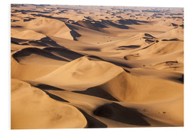 Stampa su PVC  Aerial view of the dunes of the Namib Desert, Namibia, Africa - Roberto Sysa Moiola