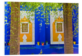 Stampa su schiuma dura  Windows in the Majorelle Gardens - Matthew Williams-Ellis