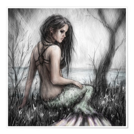 Poster  Mermaid's Rest - Justin Gedak