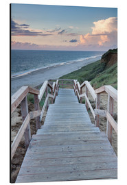 Alluminio Dibond  Stairs down to the beach, Sylt - Markus Lange