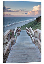 Tela  Stairs down to the beach, Sylt - Markus Lange