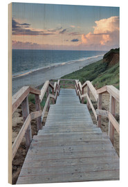 Legno  Stairs down to the beach, Sylt - Markus Lange