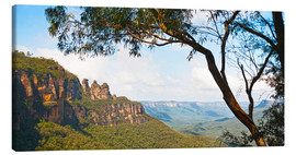Stampa su tela  Panoramic photo of the Three Sisters - Matthew Williams-Ellis