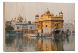 Stampa su legno  The Harmandir Sahib - Alex Robinson