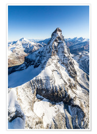 Poster Premium  The unique shape of the Matterhorn - Roberto Moiola