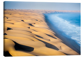 Stampa su tela  Namib Desert on the Atlantic - Roberto Moiola