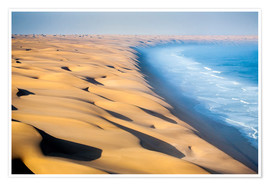 Poster Premium  Namib Desert on the Atlantic - Roberto Moiola