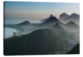 Stampa su tela  View from the Sugarloaf - Michael Runkel