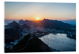 Vetro acrilico  View from the Sugarloaf - Michael Runkel