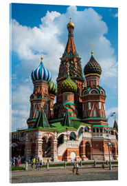 Vetro acrilico  St. Basil's Cathedral, Moscow - Michael Runkel