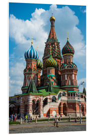 Stampa su schiuma dura  St. Basil's Cathedral, Moscow - Michael Runkel