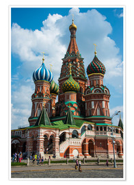 Poster Premium  St. Basil's Cathedral, Moscow - Michael Runkel