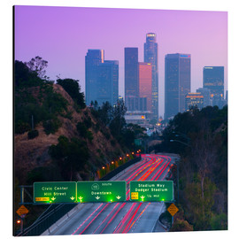 Alluminio Dibond  Route 110, Los Angeles, California, United States of America, North America - Alan Copson