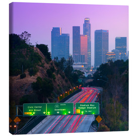Stampa su tela  Route 110, Los Angeles, California, United States of America, North America - Alan Copson