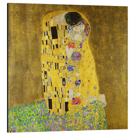 Alluminio Dibond  The kiss - Gustav Klimt