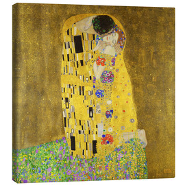 Tela  The kiss - Gustav Klimt