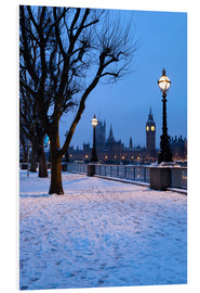 Stampa su schiuma dura  South Bank in winter - Stuart Black